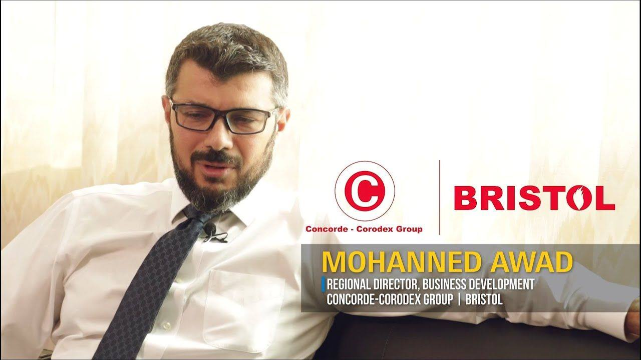 Mohanned Awad, Regional Director, Business Development, Concorde-Corodex Group & Bristol