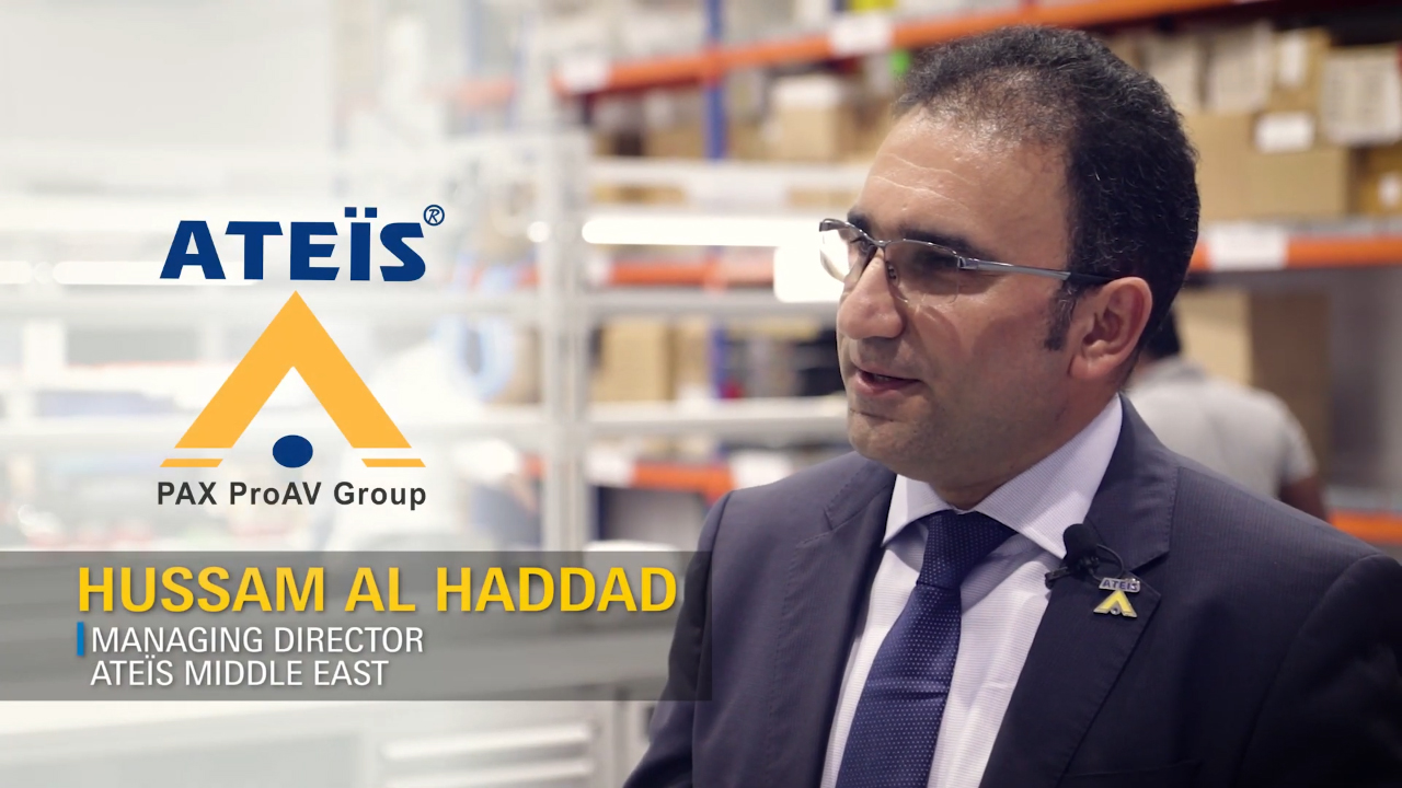 Hussam Al Haddad, Managing Director, ATEIS, Middle East