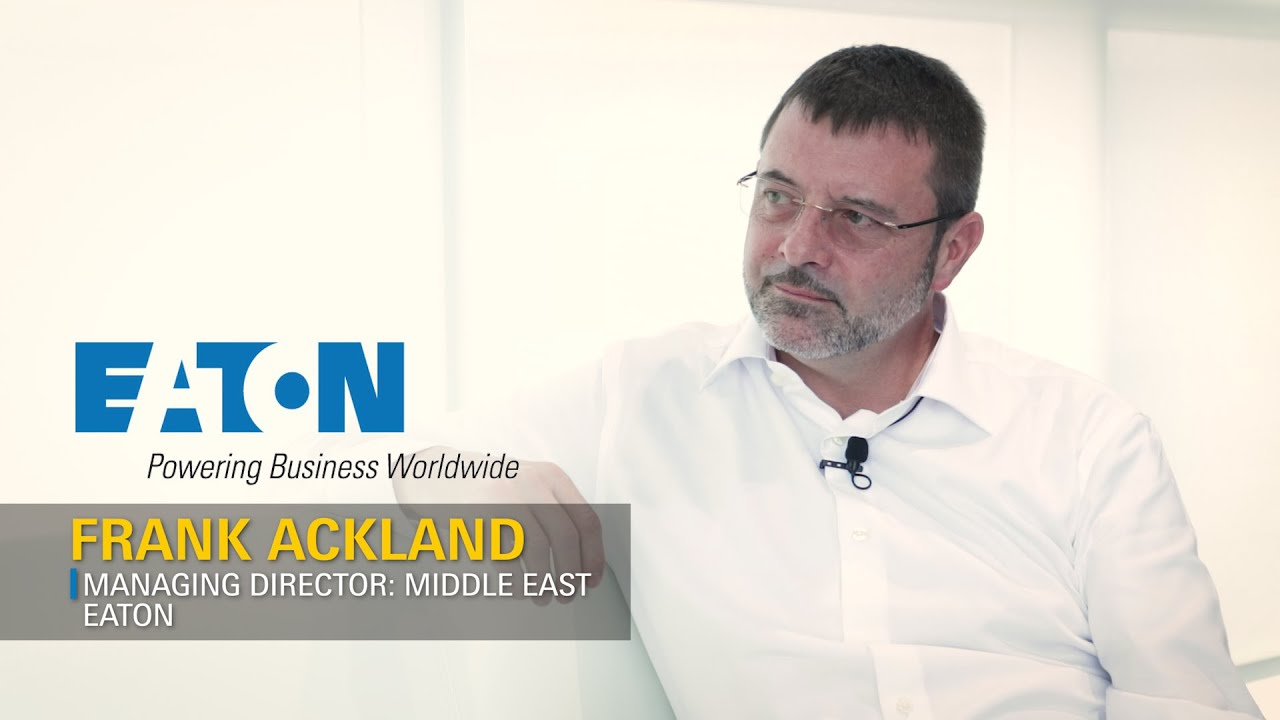 Frank Ackland, Managing Director, Eaton, Middle East