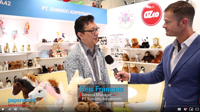 Paperworld Middle East - PT. Sunindo Adipersada Interview